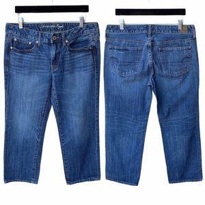 AOE Boy Fit Cropped Jeans size 8